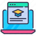 browse, browse course, browse subject, course, education, internet, online icon
