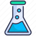 chemistry, experiment, flask, hospital, lab, laboratory, research icon
