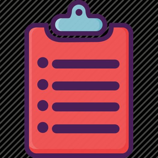 alumunium, clipboard, paper, text, writing icon