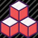 cube, dimension, geometry, prism, square