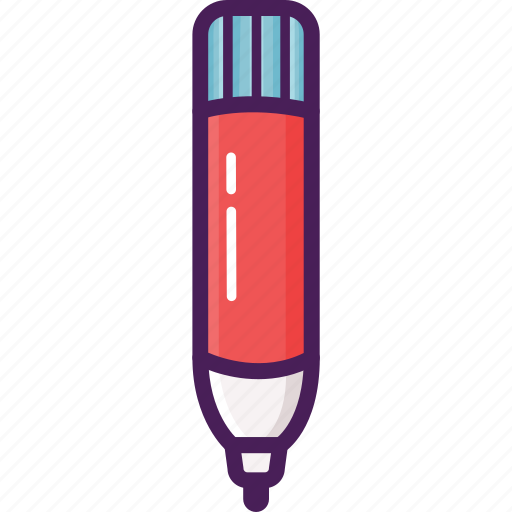 board, draw, element, marker, object, write icon