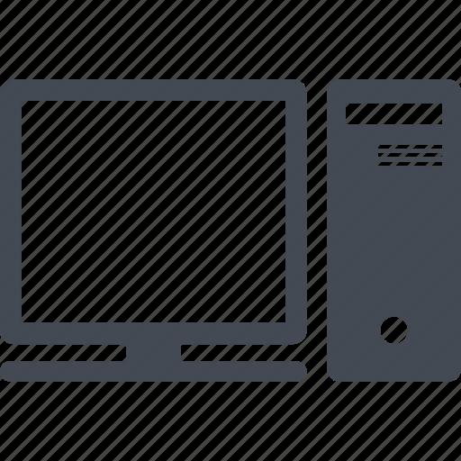 computer, education, monitor, technologies icon