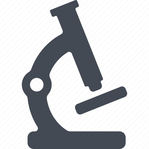education, learning, microscope, science, study icon