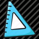 protector, slide ruler, measurement ruler, geometrical tools, ruler icon