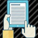 e-book, education, internet, learning, online, school, shop icon