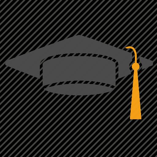 education, graduation, hat, school, student, study, university icon
