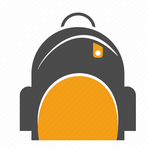 backpack, bag, book bag, education, rucksack, school, schoolbag icon