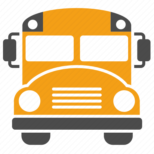bus, education, school bus, study, traffic, transport, vehicle icon