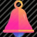 bell, ring, alert, notification