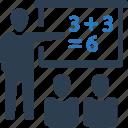 classroom, education, training icon