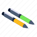 pens, stationery, ballpoints, writing tools, educational tool