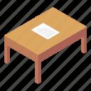 writing table, teacher table, furniture, desk, wooden desk