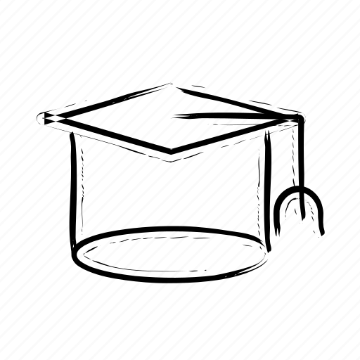 cap, graduate, mortarboard icon