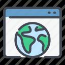earth, globe, internet, online, web, website, worldwide