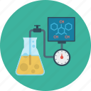 chemistry, formula, learning, tube icon