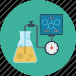 chemistry, formula, learning, tube icon