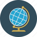 globe, location, online icon