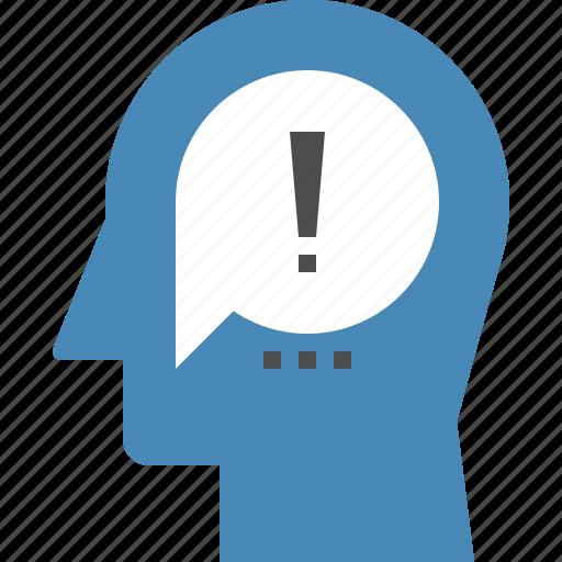 communication, head, human, intelligence, mind, solution, thinking icon