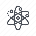 atom, education, research, science icon