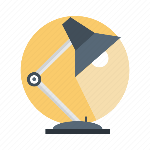 bulb, desk, energy, lamp, light, office icon