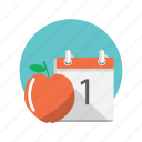appointment, day, month, schedule, shedule icon