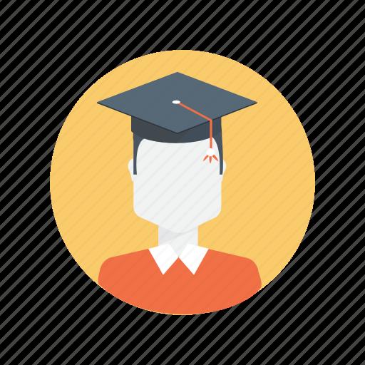 college, graduate, graduation, student icon