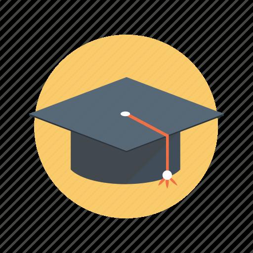 cap, education, graduation, student, university icon