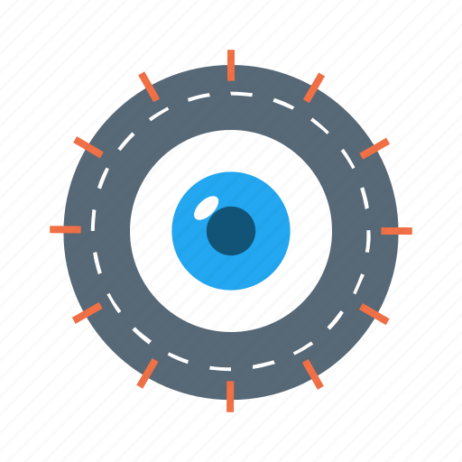 find, look, see, vision, zoom icon