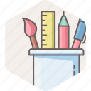 design, stationary, stationery, tool icon