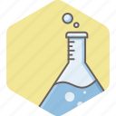chemistry, flask, lab, laboratory icon