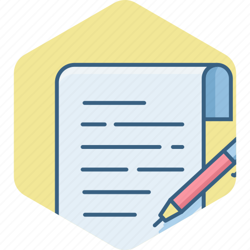 document, note, notes, write, writing icon