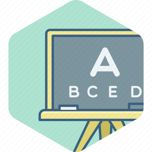 class, classroom, education, english, knowledge, letter, uppercase icon