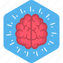 brain, creative, design, idea, mind, mindset, think icon