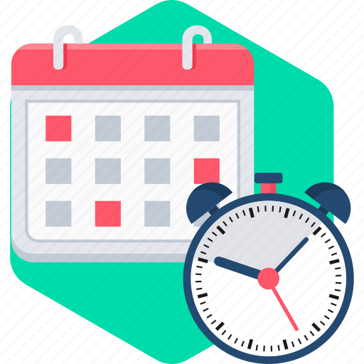 calendar, date, day, event, month, time, timer icon