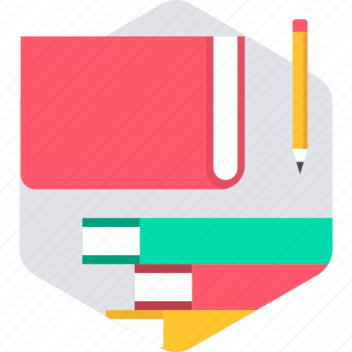 book, books, education, learning, library, note, study icon