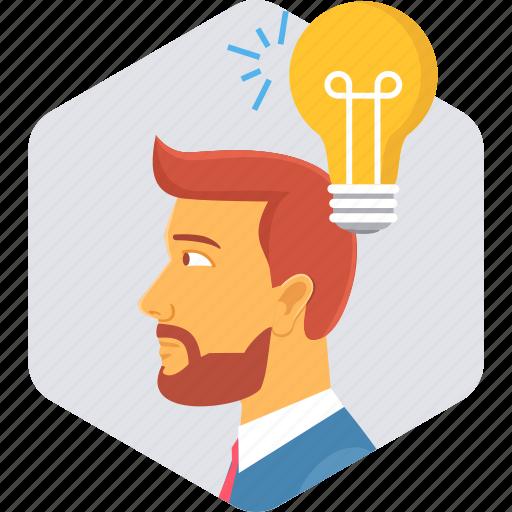 bulb, electricity, energy, idea, innovate, innovation, light icon