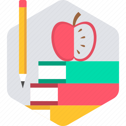 apple, book, books, education, library, studies, study icon