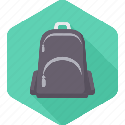 backpack, bag, school, school bag, suitcase, transport, travel icon
