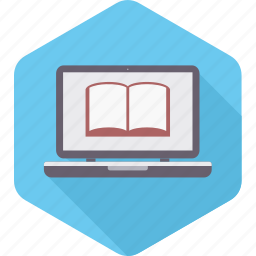 book, ebook, elearning, knowledge, learning, reading, school icon