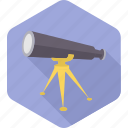 astronomy, binocular, binoculars, explore, planet, space, telescope icon