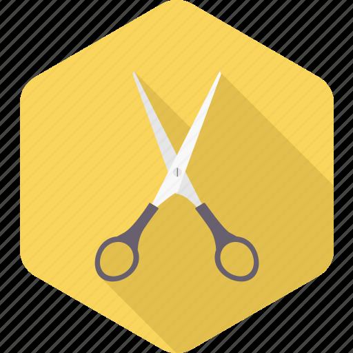 art, craft, salon, school supplies, scissor, scissors, trim icon