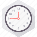 alarm, alert, clock, time, timer, wait, wall icon