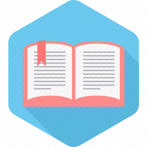 book, bookmark, education, learning, notebook, reading, study icon