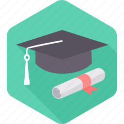 certificate, degree, diploma, education, graduation, holder, university icon