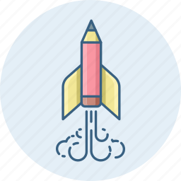 business, business launch, rocket, space, spaceship, startup icon