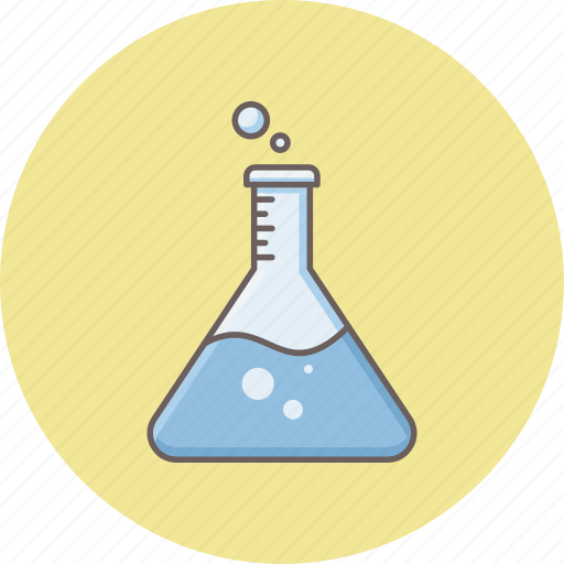 chemical, chemistry, flask, lab, laboratory, science, test icon