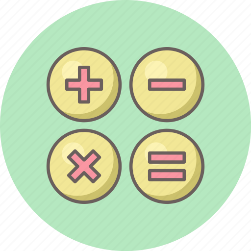accounting, calculate, calculation, calculator, math, mathematics, maths icon