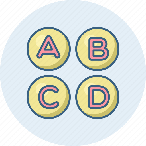 abcd, alphabet, alphabets, english, latin, letter icon