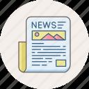 news, newsletter, communication, hotnews, letter, media, newspaper