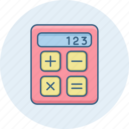 accounting, calculation, calculator, math, mathematical, mathematics, maths icon